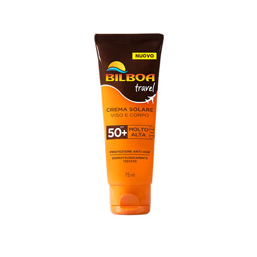 Bilboa Travel Crema Solare SPF50+ 75 ml