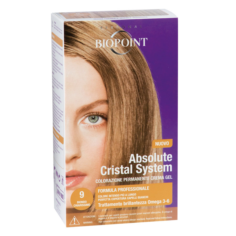 <br />Biopoint Absolute Cristal System Biondo Chiarissimo