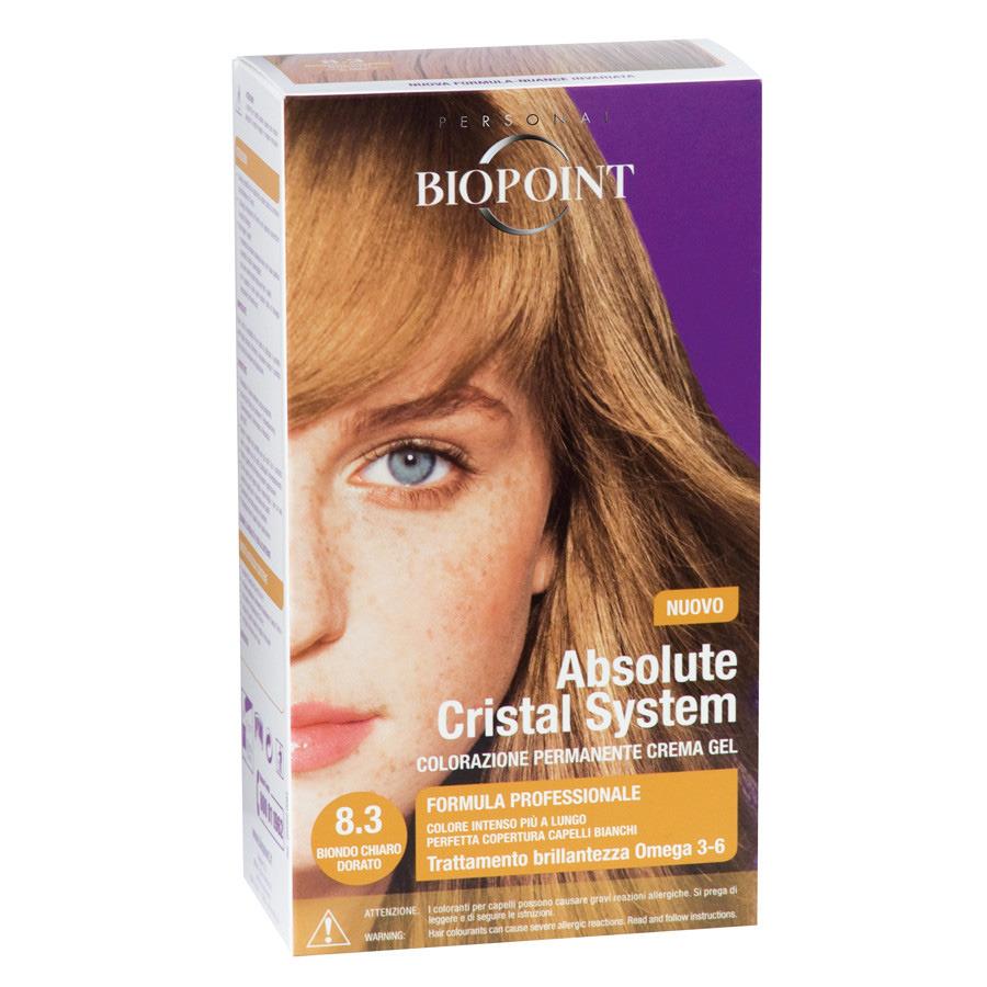 <br />Biopoint Absolute Cristal System Biondo Chiaro Dorato