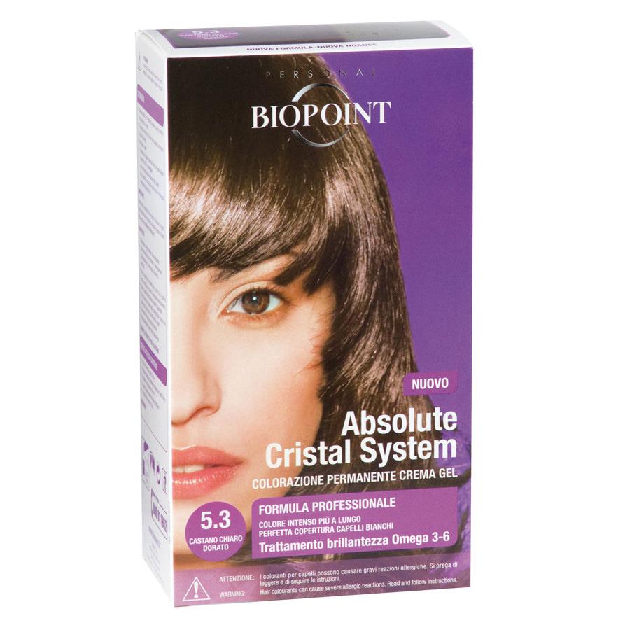 <br />Biopoint Absolute Cristal System Castano Chiaro Dorato