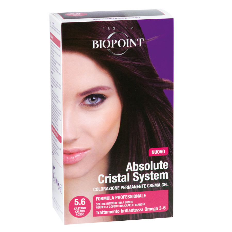 <br />Biopoint Absolute Cristal System Castano Chiaro Rosso