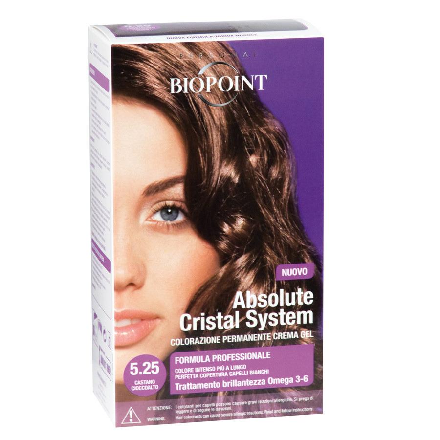 <br />Biopoint Absolute Cristal System Castano Cioccolato