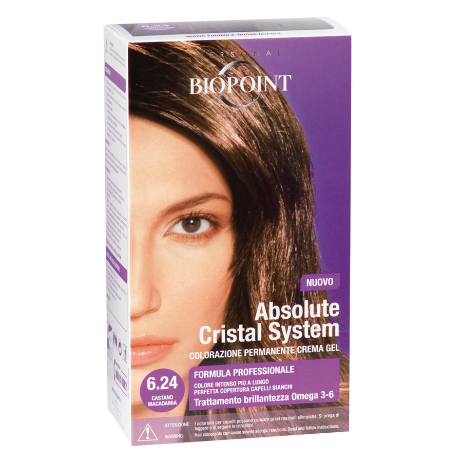 <br />Biopoint Absolute Cristal System Castano Macadamia