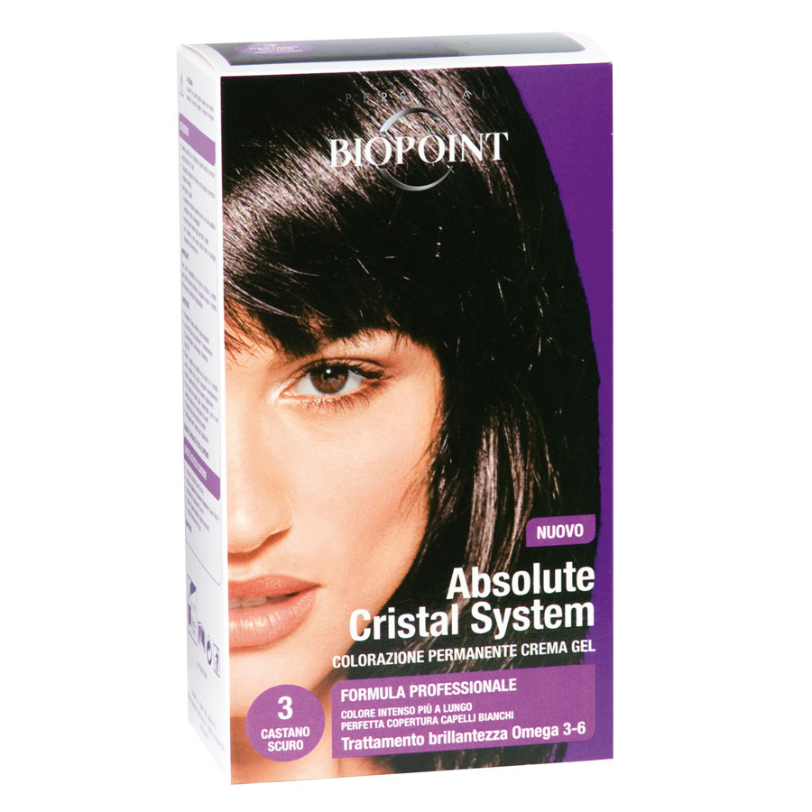 <br />Biopoint Absolute Cristal System Castano Scuro