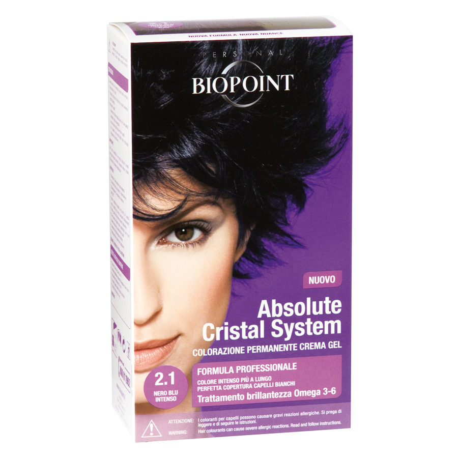 <br />Biopoint Absolute Cristal System Nero Blu Intenso