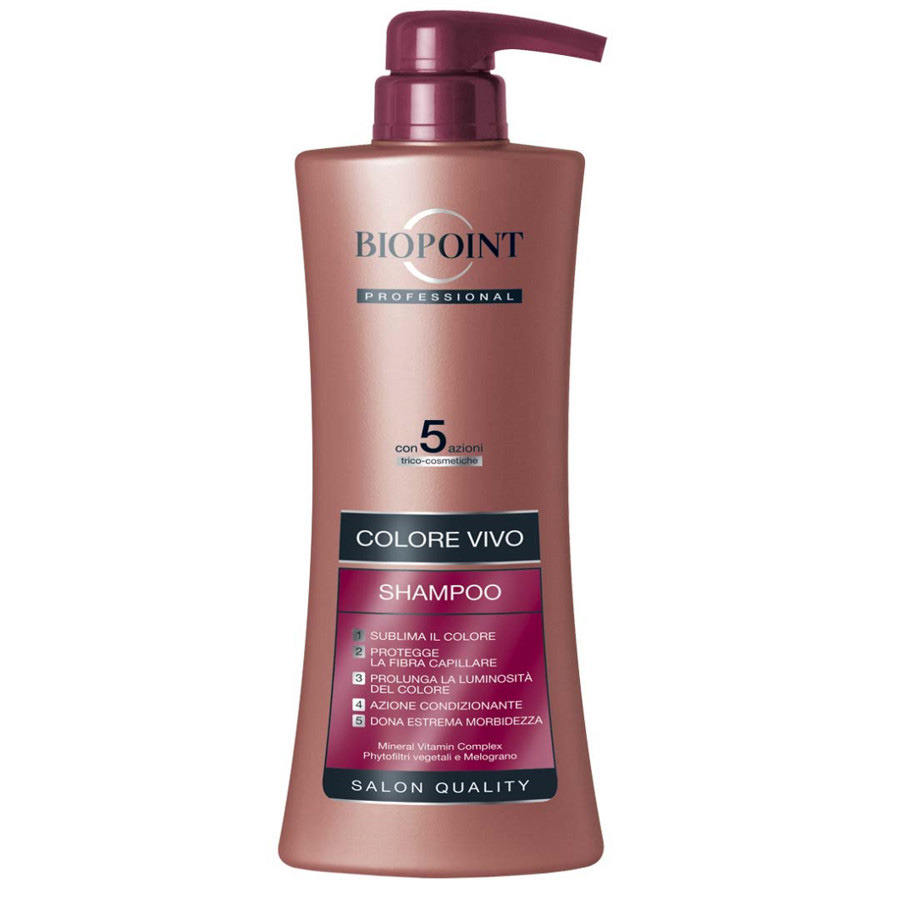 Biopoint Professional Colore Vivo Shampoo 400 ml