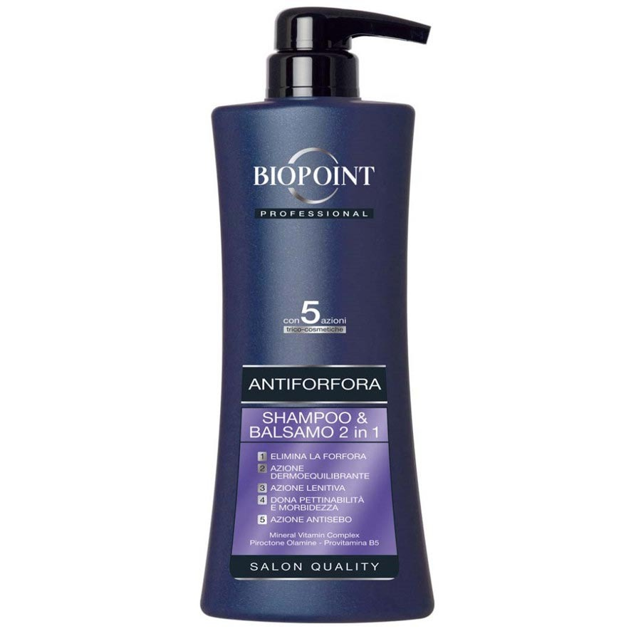 Biopoint Professional Shampoo e Balsamo 2 in 1 Antiforfora 400 ml