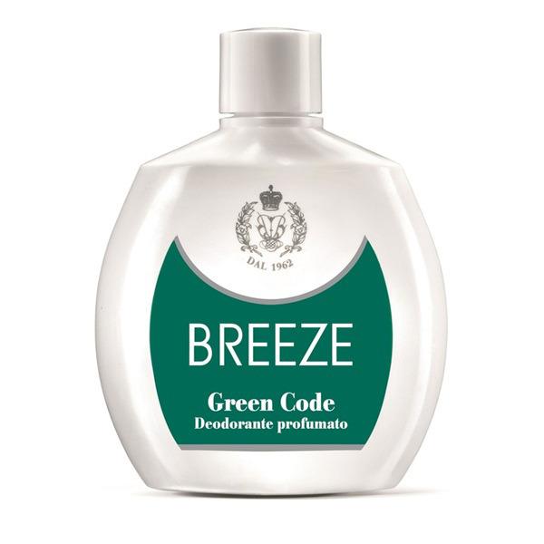 <br />Breeze Deodorante Squeeze No Gas Green Code 100 ml