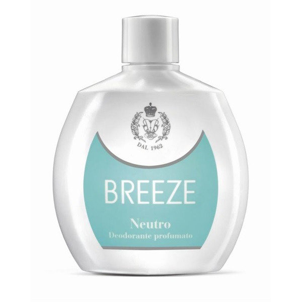 <br />Breeze Deodorante Squeeze No Gas Neutro 100 ml