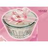 Cofanetto Franco Zarri - Cipria Profumata Decoro Rosa Ref 15152-4