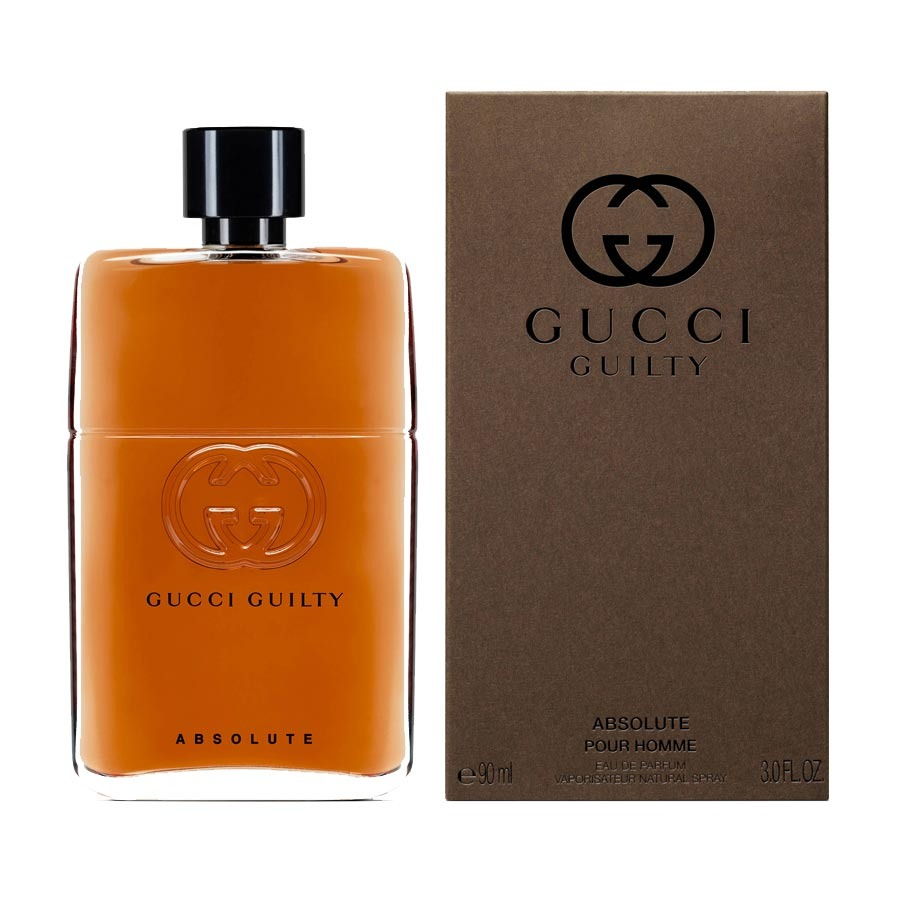 gucci guilty absolute pour homme eau de parfum 90 ml spray. Black Bedroom Furniture Sets. Home Design Ideas