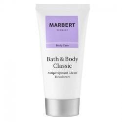 Marbert Bath & Body Classic Antiperspirant Cream Deodorant ( crema deodorante ad azione prolungata ) 50 ml