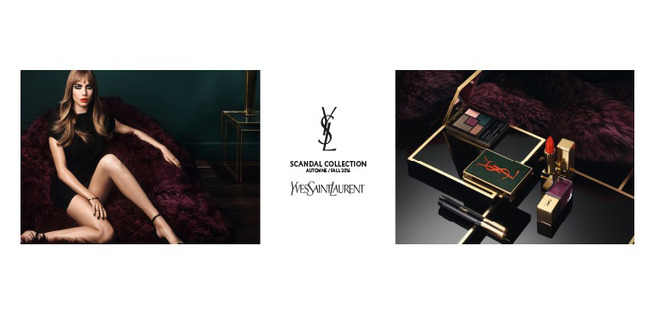 Yves Saint Laurent Scandal Collection Fall Look 2016