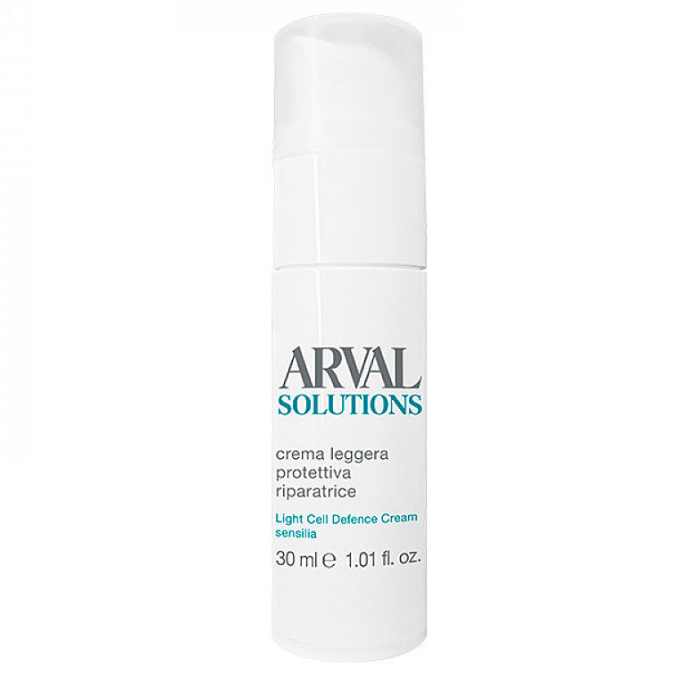 Arval Solutions Light Cell Defence Cream Crema Leggera Protettiva Riparatrice 30 ml