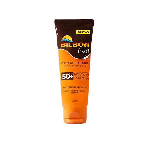 Bilboa Travel Crema Solare SPF 50+ Viso e Corpo 75 ml
