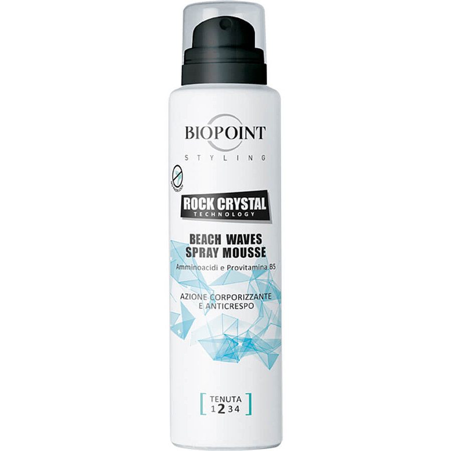 Biopoint Styling Rock Crystal Technology Beach Waves Spray Mousse 150 ml