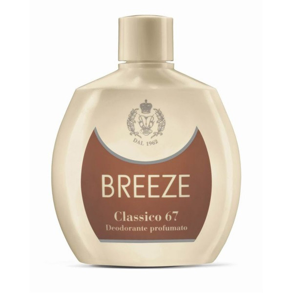 <br />Breeze Deodorante Squeeze No Gas Classico 67 100 ml