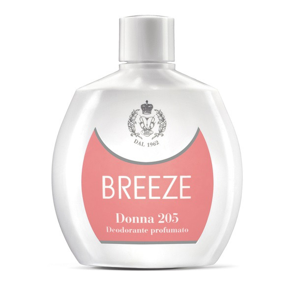 <br />Breeze Deodorante Squeeze No Gas Donna 205 100 ml