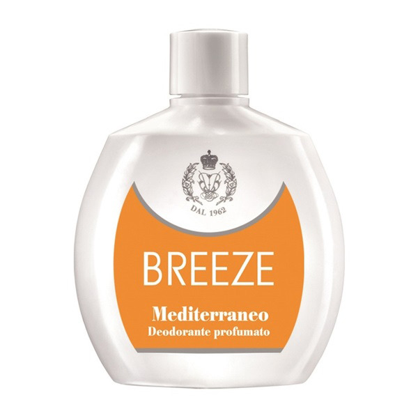 <br />Breeze Deodorante Squeeze No Gas Mediterraneo 100 ml