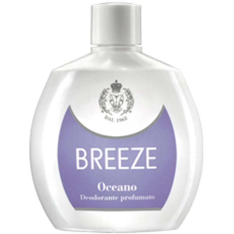 <br />Breeze Deodorante Squeeze No Gas Oceano 100 ml