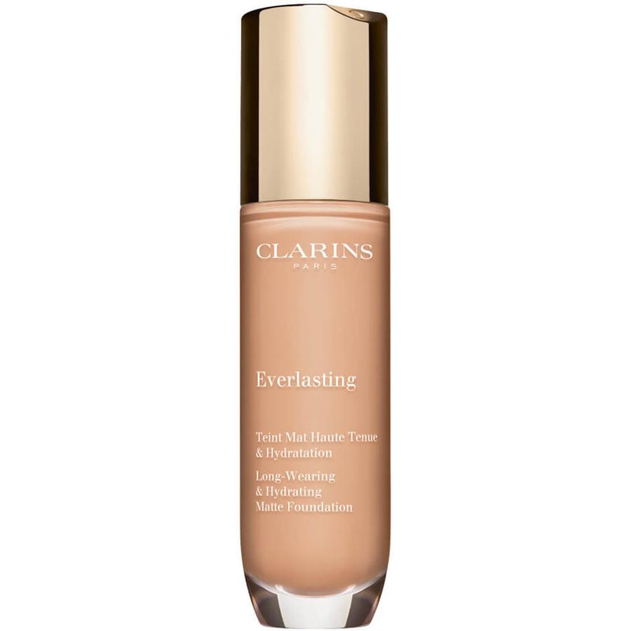 <br />Clarins Everlasting Foundation n. 107C beige