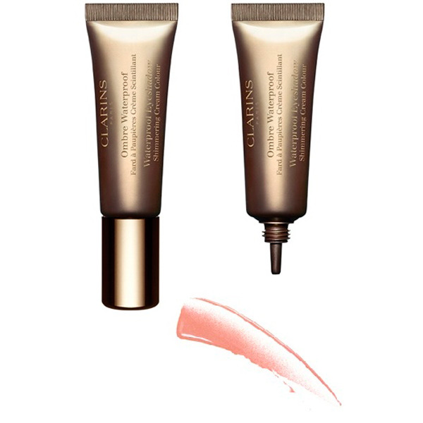 Clarins Ombre Waterproof n. 01 Golden Peach