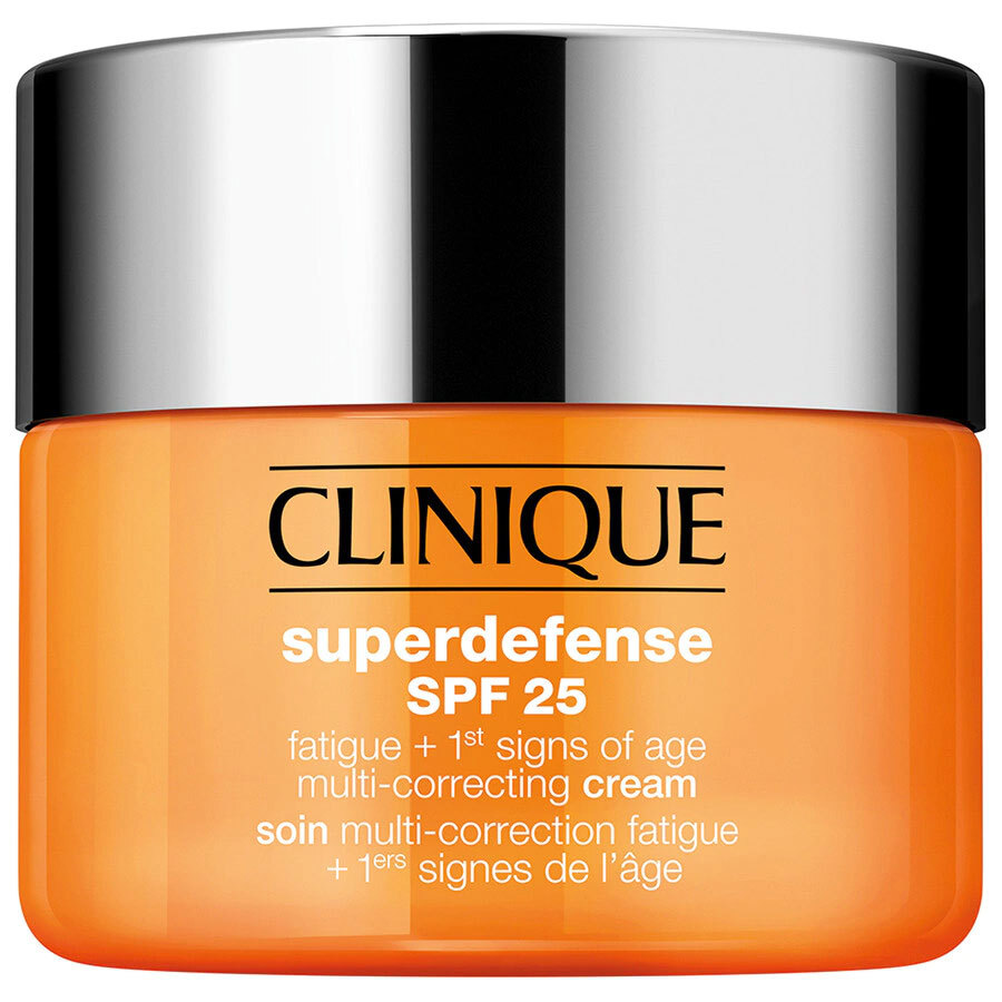Clinique Superdefense SPF25 Crema Prevenzione Antieta + Anti Fatica 50 ml per pelli tipo 1, 2