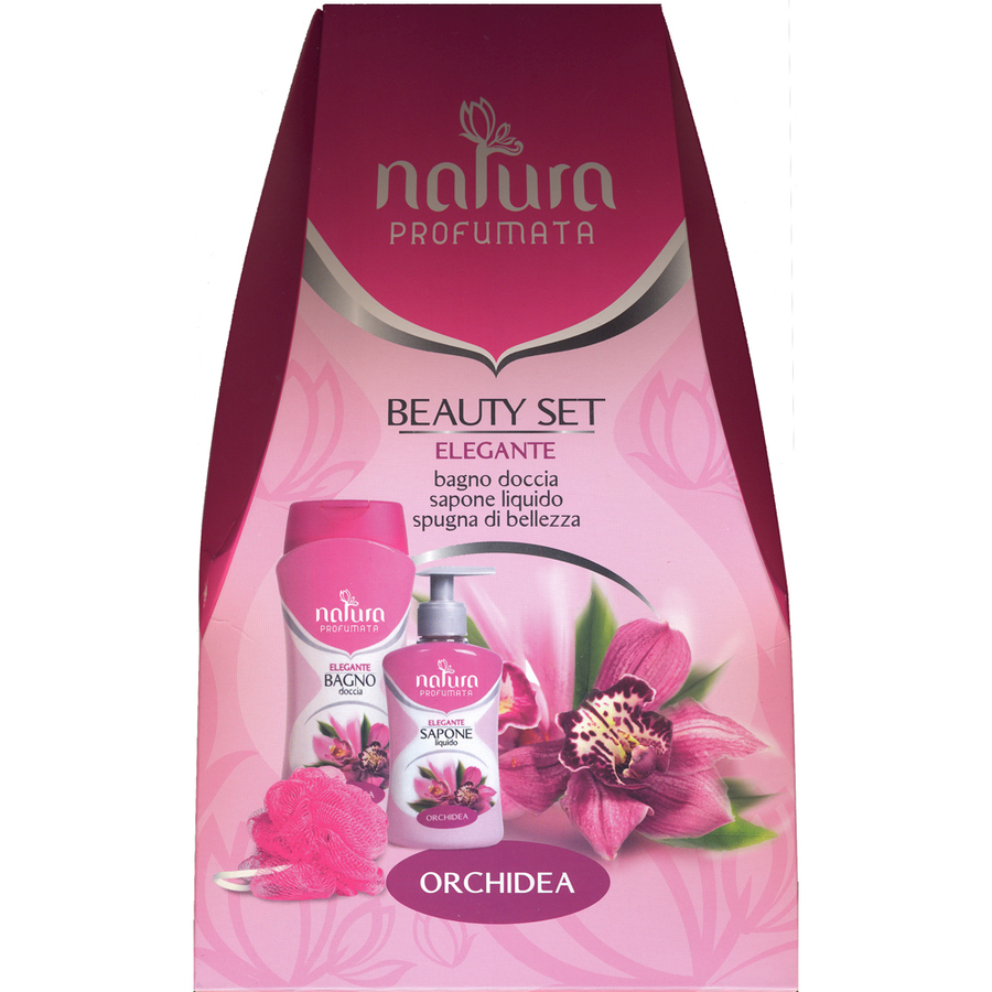 Cofanetto Jacklon Natura Profumata Beauty Set Elegante Orchidea