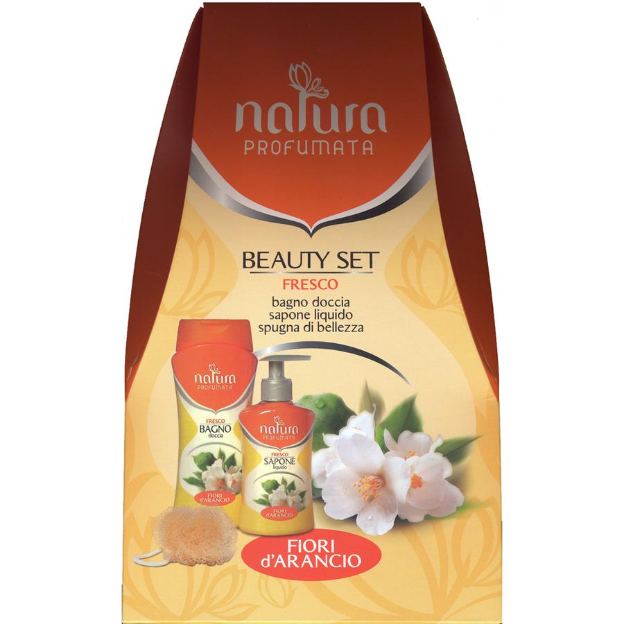 Cofanetto Jacklon Natura Profumata Beauty Set Fresco Fiori D Arancio