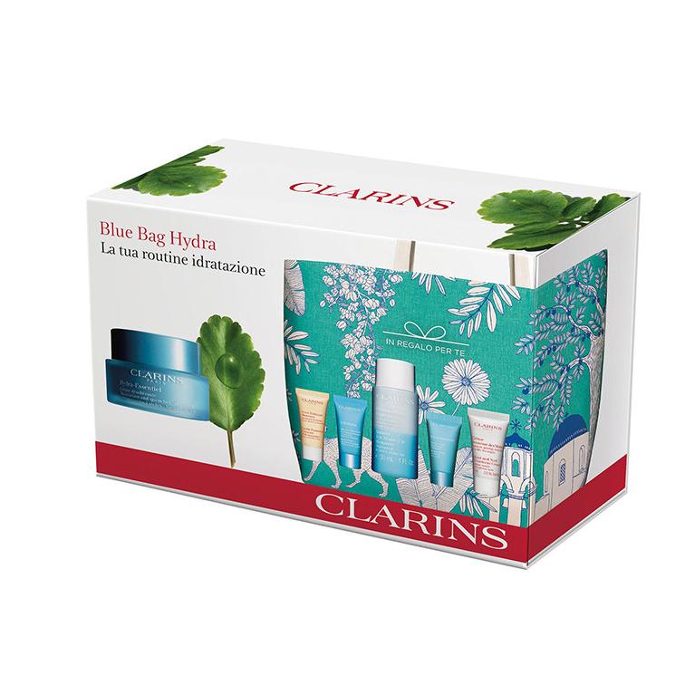 Cofanetto Clarins Blue Bag Hydra