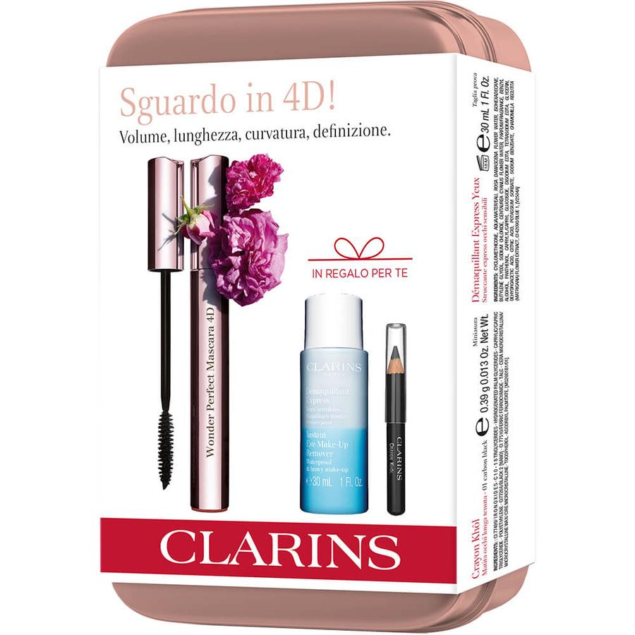 Cofanetto Clarins Mascara Wonder Perfect 4D