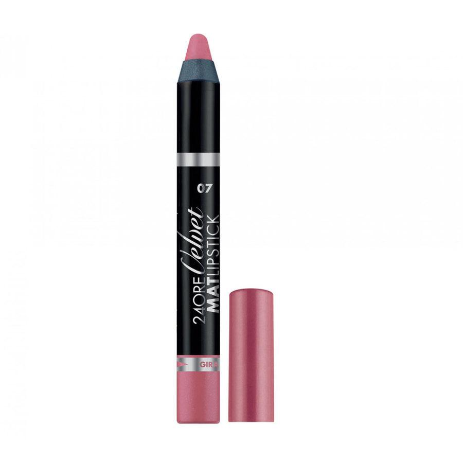 <br />Deborah 24 Ore Velvet Mat Lipstick n. 07 rose