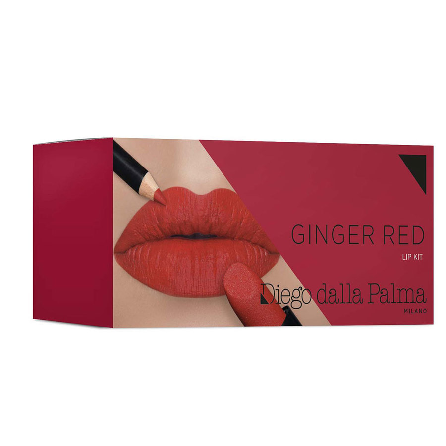 diego dalla palma Ginger Red Lip Kit