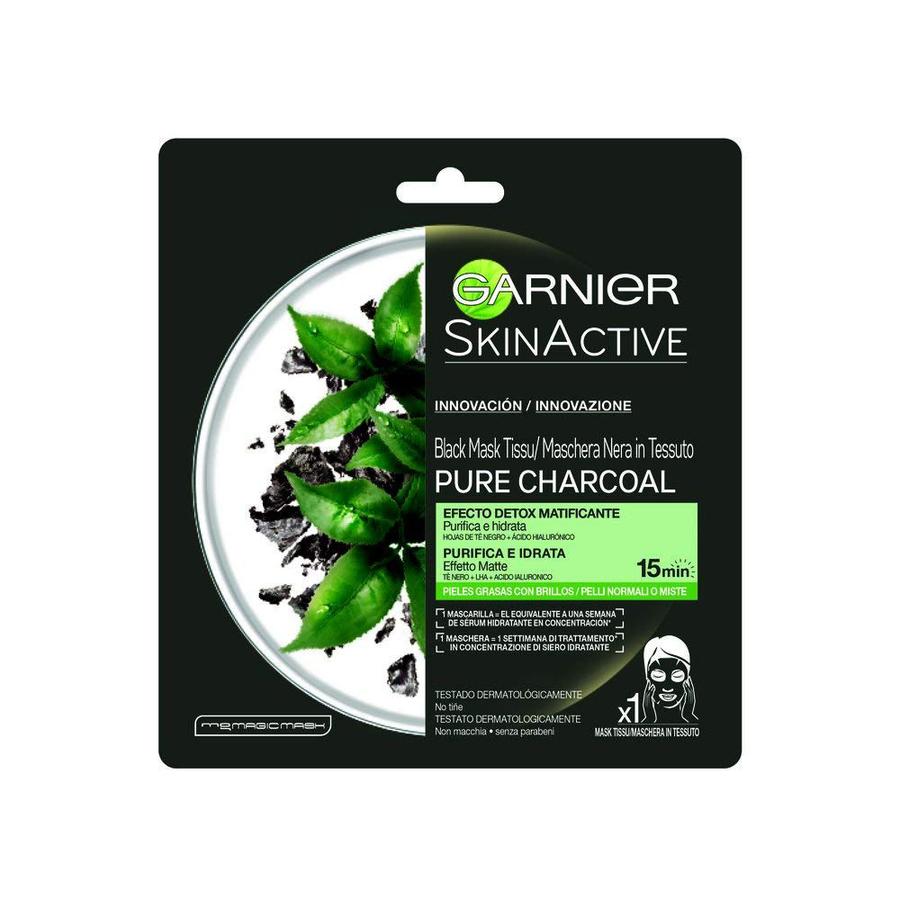 Garnier Skinactive Maschera Nera in Tessuto Pure Charcoal