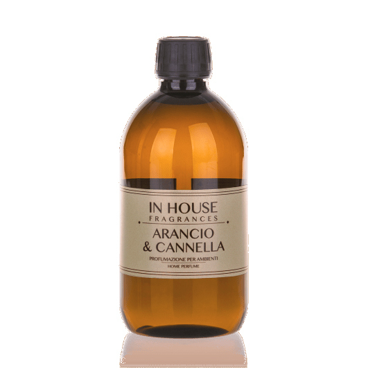 In House Fragrances Classic Arancio E Cannella Ricarica Diffusore 200 ml