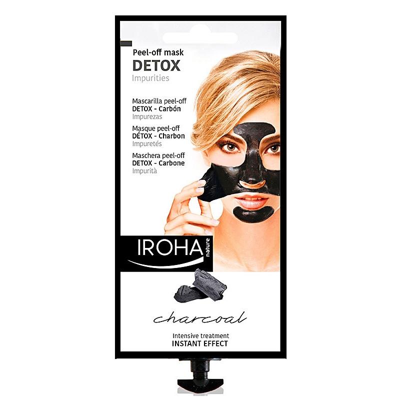 Iroha Nature Charcoal Peel Off Mask Detox