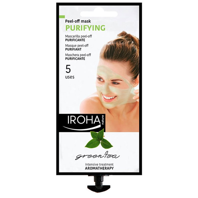 Iroha Nature Purifying Green Tes Peel Off Mask 5 uses