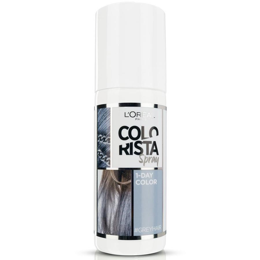 L Oreal Colorista Spray Colore 1 Giorno 75 ml grigio - grey