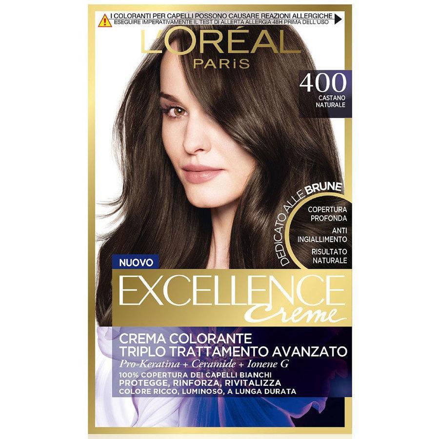 L Oreal Excellence Creme n. 400 castano naturale e44ac33e1bae