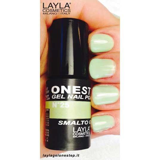 <br />Layla One Step Gel Nail Polish n. 25 lime love