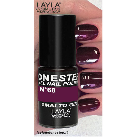 <br />Layla One Step Gel Nail Polish n. 68 Chasing Passion