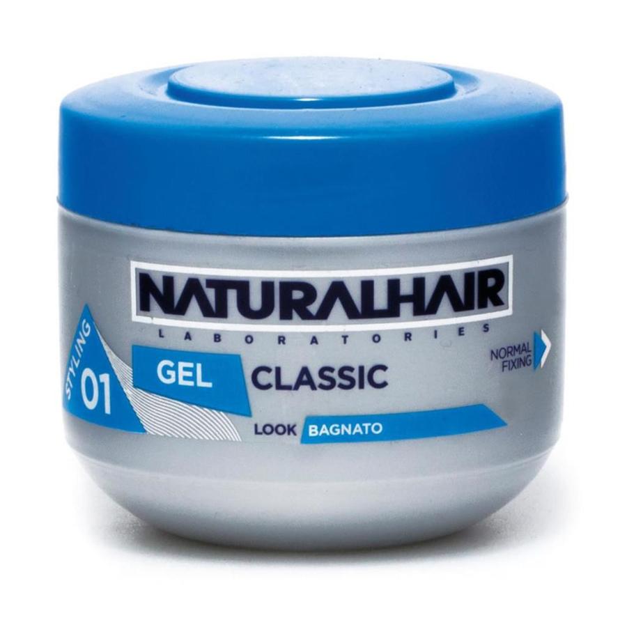 Naturalhair laboratories gel classic 01 effetto bagnato 150 ml - Gel effetto bagnato ...