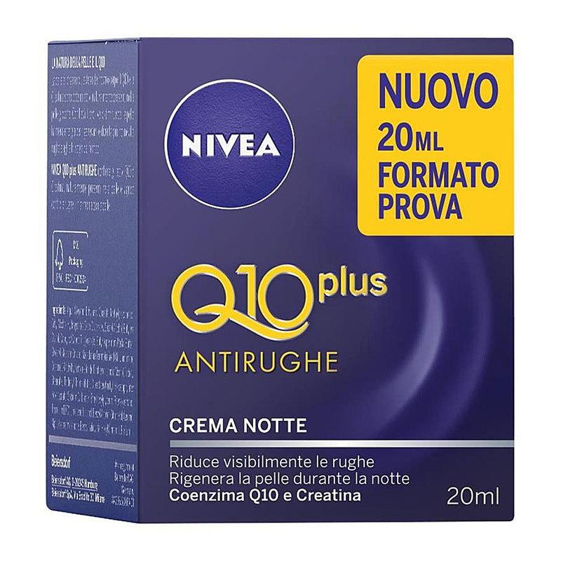 Nivea Q10 Plus Antirughe Crema Notte Mini 20 ml