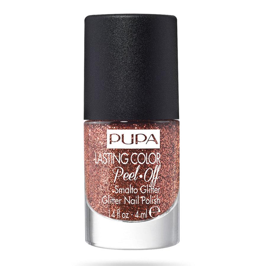 <br />Pupa Lasting Color Peel Off Smalto Glitter n. 004 hot bronze