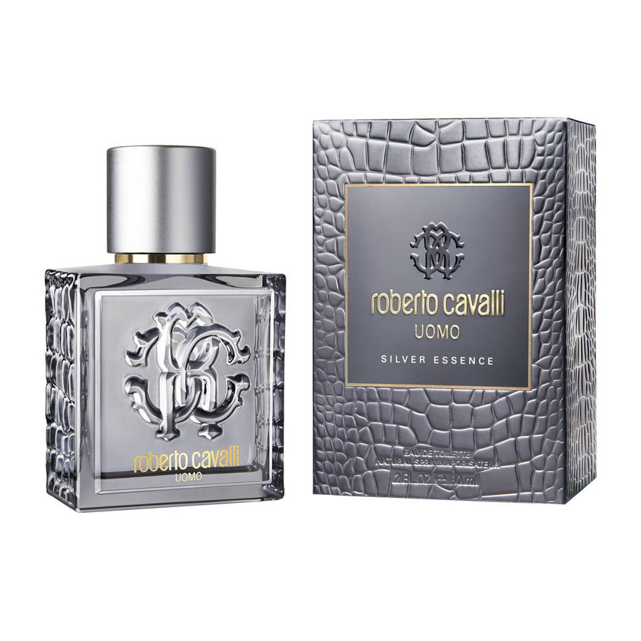 Roberto Cavalli Uomo Silver Essence eau de toilette 60 ml spray