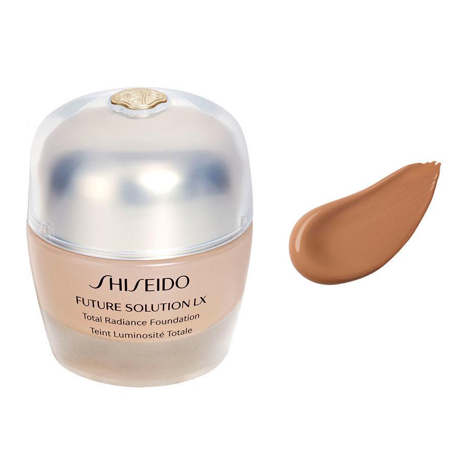 <br />Shiseido Future Solution LX Total Radiance Foundation rose 4